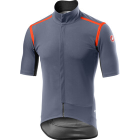 Castelli Gabba Rain Or Shine Jas Heren, dark/steel blue
